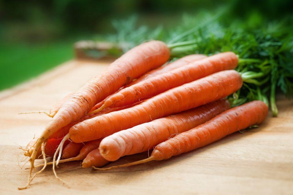 Lista per mese di frutta e verdura di stagione - Carote